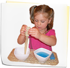 Little Acorns children learning possibilities